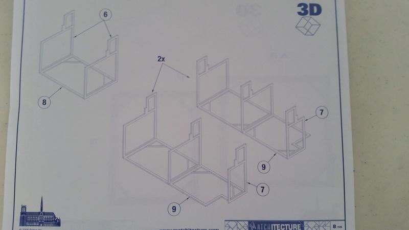 Matchitecture: Cathédrale Notre-Dame-de-Paris Plan_810