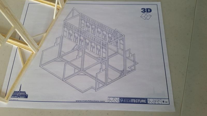 Matchitecture: Cathédrale Notre-Dame-de-Paris Plan_910