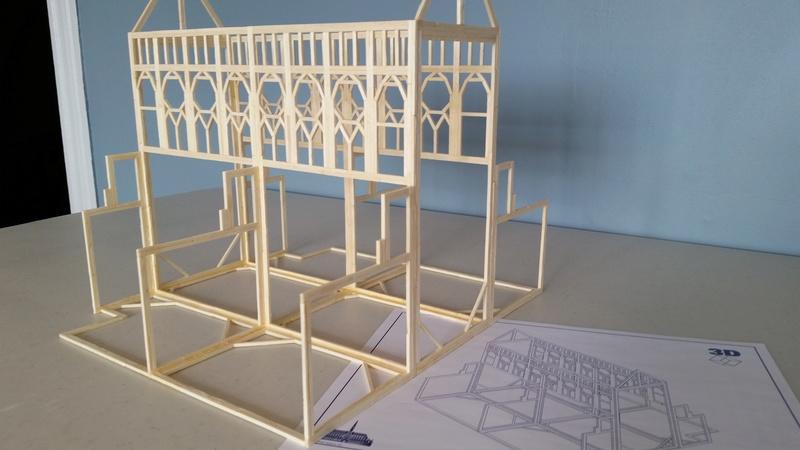 Matchitecture: Cathédrale Notre-Dame-de-Paris Plan_911