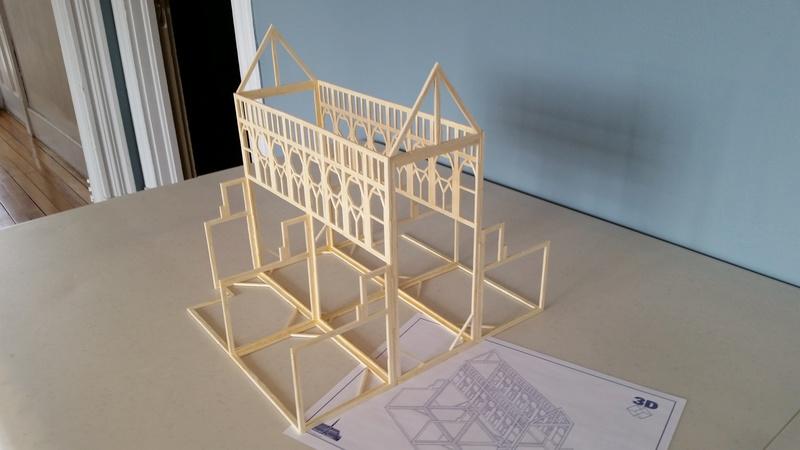 Matchitecture: Cathédrale Notre-Dame-de-Paris Plan_912