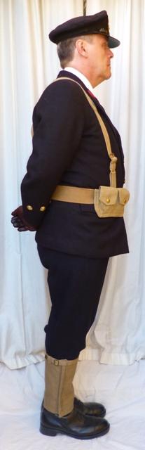 L'équipement en toile (webbing) de la RN : un Master at Arms de la RN 312