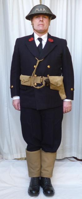 L'équipement en toile (webbing) de la RN : un Master at Arms de la RN Aroyal10