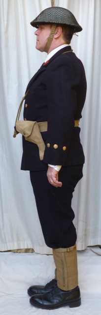 L'équipement en toile (webbing) de la RN : un Master at Arms de la RN Broyal10