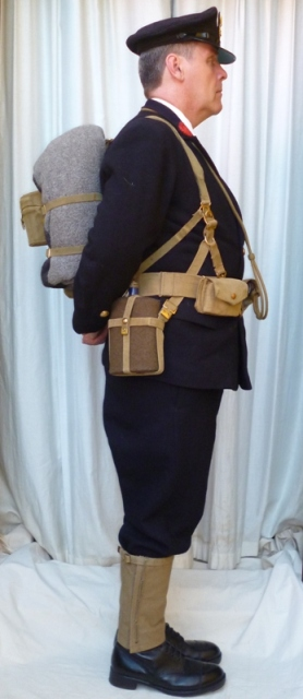 L'équipement en toile (webbing) de la RN : un Master at Arms de la RN Chief_10