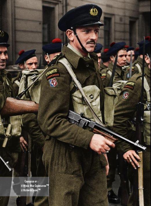 1er Bataillon de Fusiliers Marins Commando - FNFL Londres Comman10