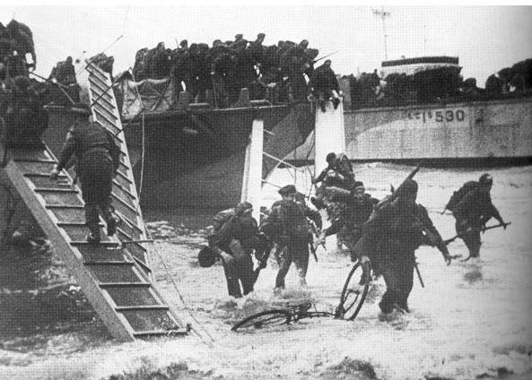1er Bataillon de Fusiliers Marins Commando DDAY- Kieffer Comman16