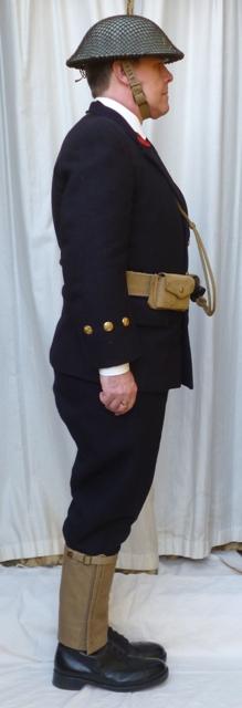 L'équipement en toile (webbing) de la RN : un Master at Arms de la RN Croyal10