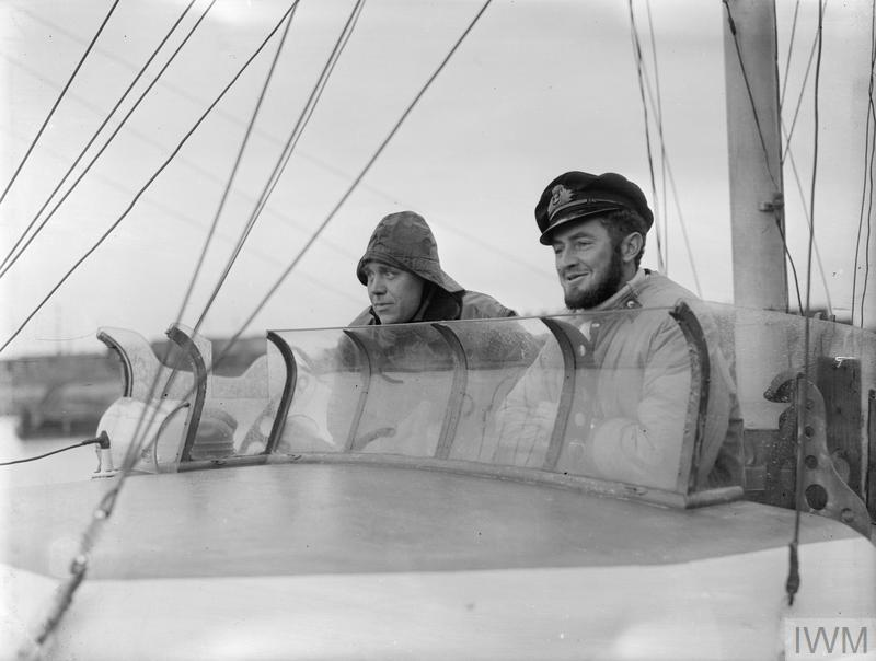 A bord des Motor Gun Boats Mgb1010