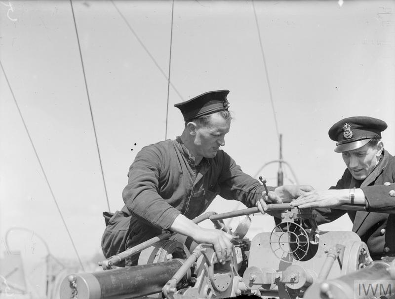 A bord des Motor Gun Boats Mgb110