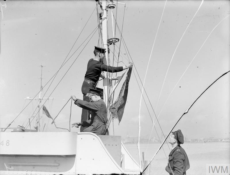 A bord des Motor Gun Boats Mgb210