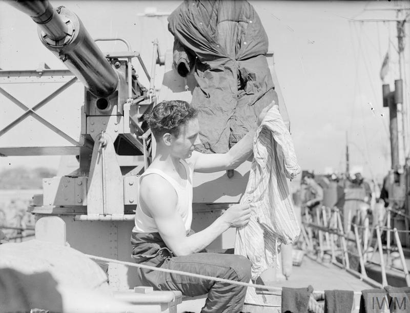 A bord des Motor Gun Boats Mgb410