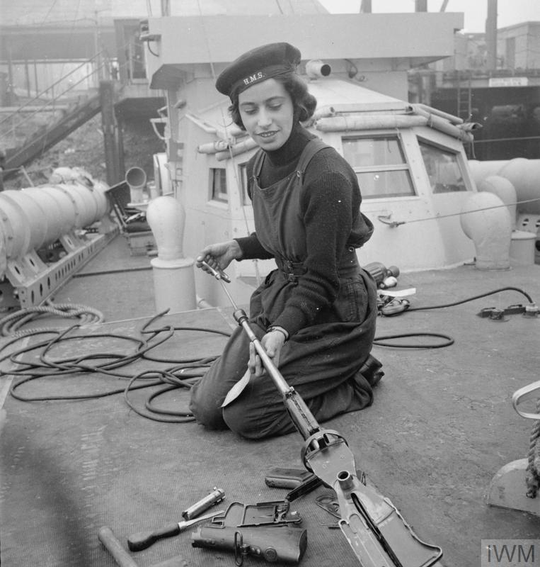 A bord des Motor Gun Boats Mgb510