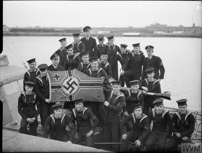 A bord des Motor Gun Boats Mgb710