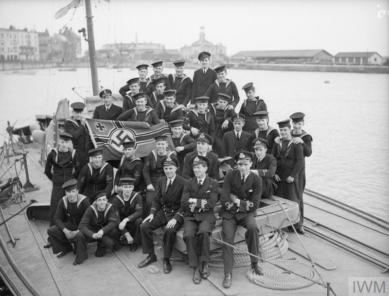 A bord des Motor Gun Boats Mgb810