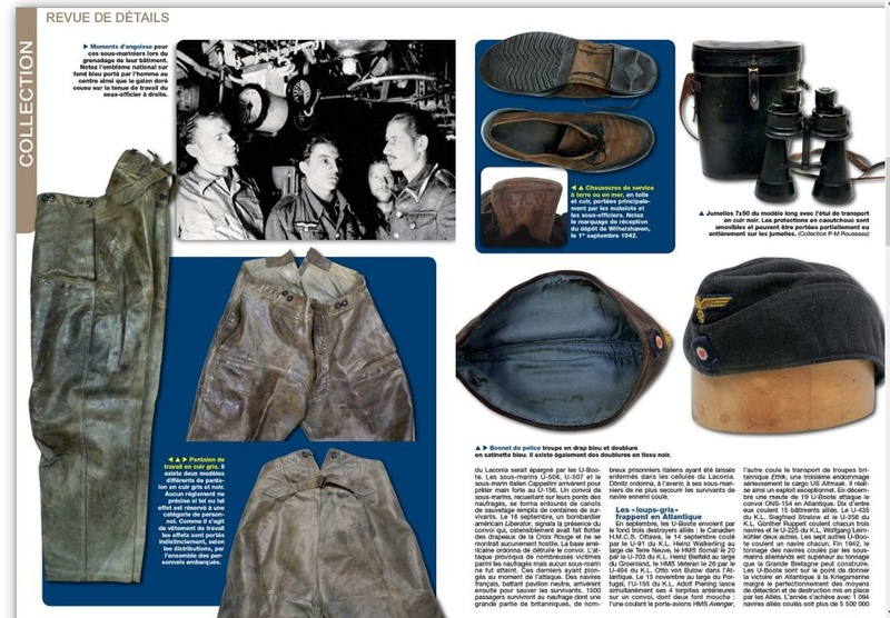 Uniformes n°281 /2012 - le sous-marinier allemand 1942 Page210
