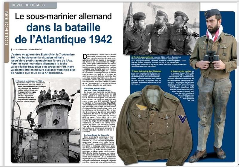 Uniformes n°281 /2012 - le sous-marinier allemand 1942 Page_110