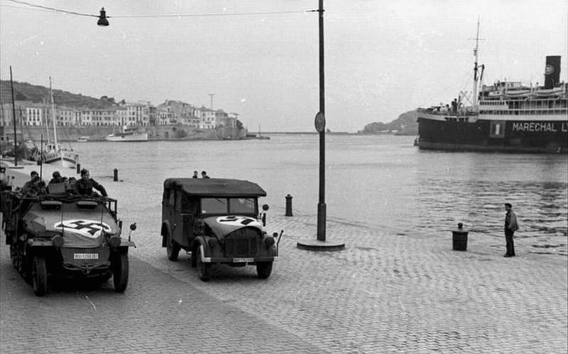 Léon Mury, Marin et Espion.... Port10