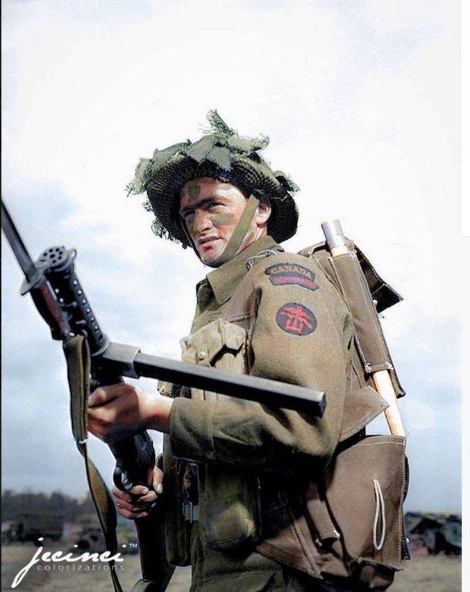 Commando de marine Canadien - RCNBC Juno Beach 1944 Rcnbc_10