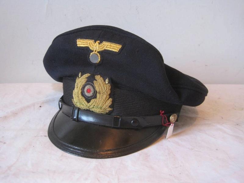 Casquette Officier Marinier KM Sm110