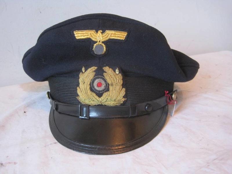 Casquette Officier Marinier KM Sm310