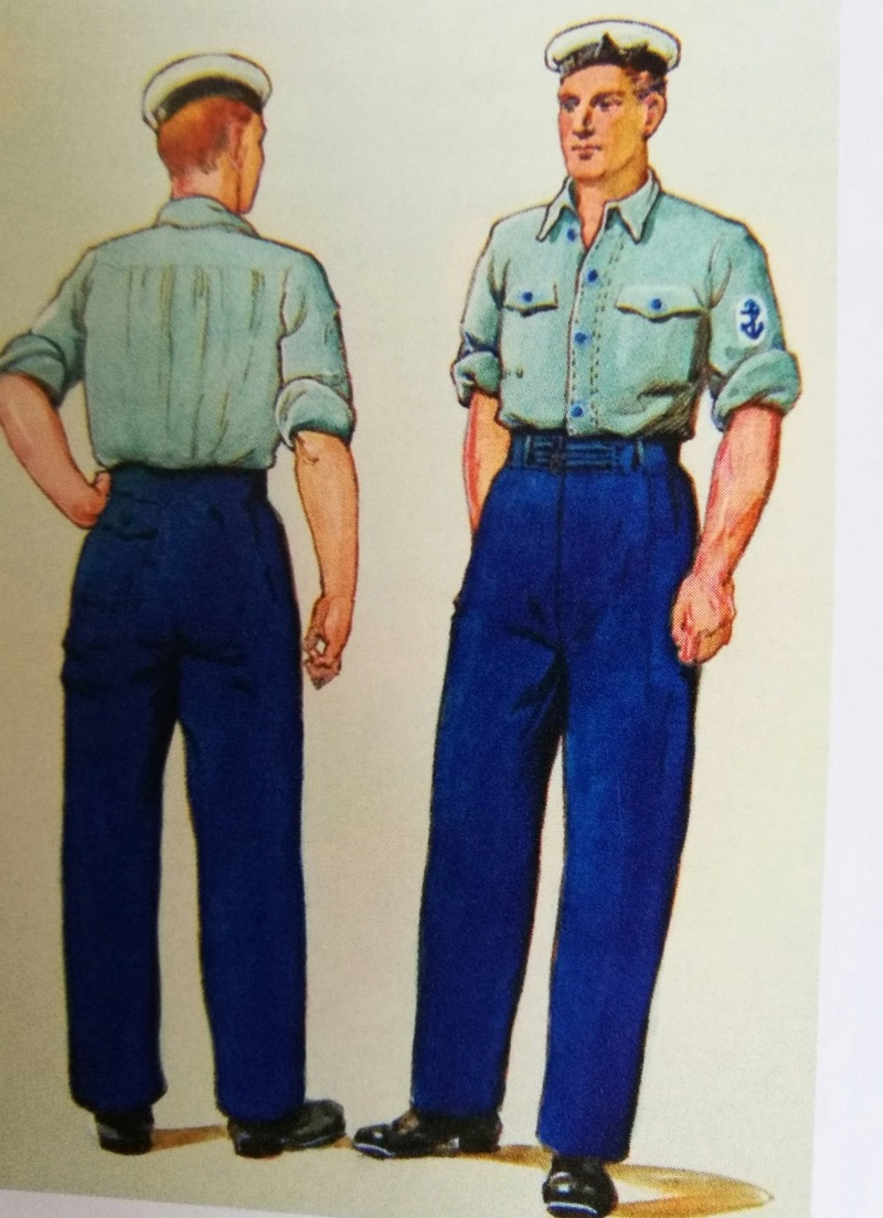Les Mécanos de la Royal Navy ou stockers : les types Bleus de Chauffe Thumbn11