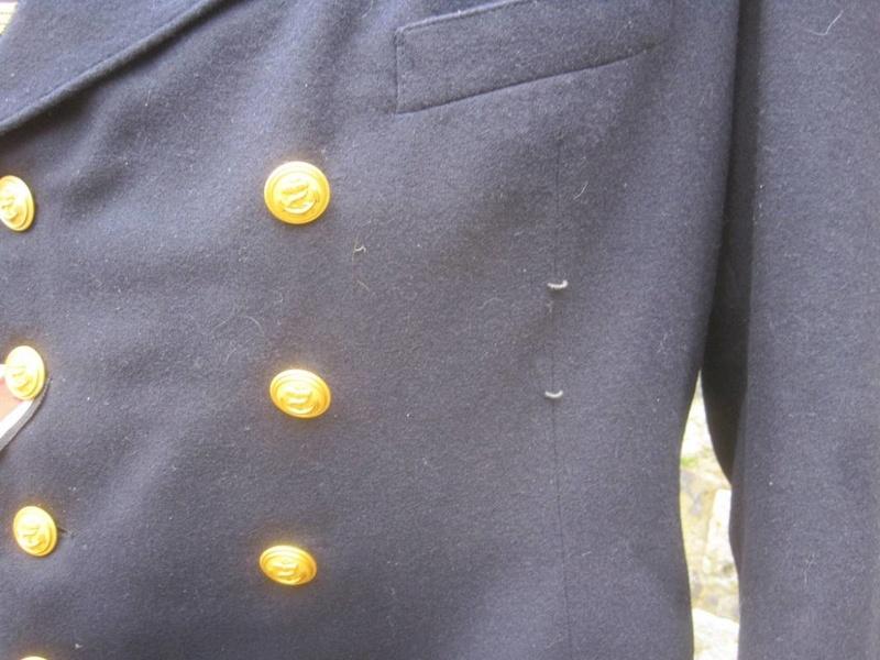 Veste Officier Marinier mécano KM Veston33