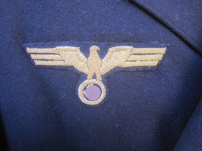 Veste Officier Marinier mécano KM Veston34