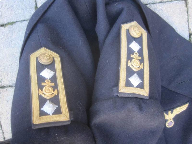 Veste Officier Marinier mécano KM Veston36