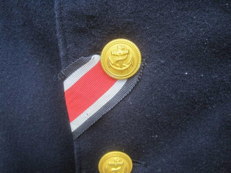 Veste Officier Marinier mécano KM Veston37