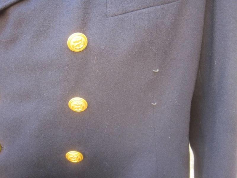 Veste Officier Marinier mécano KM Veston38
