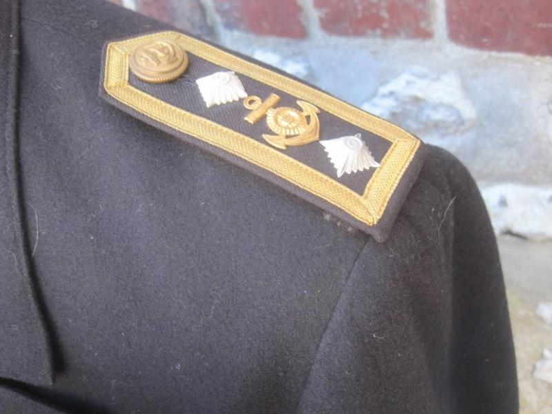 Veste Officier Marinier mécano KM Veston39