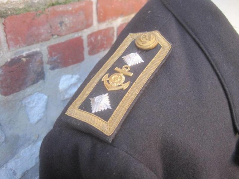 Veste Officier Marinier mécano KM Veston40