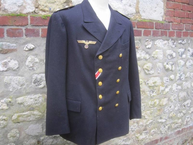 Veste Officier Marinier mécano KM Veston42