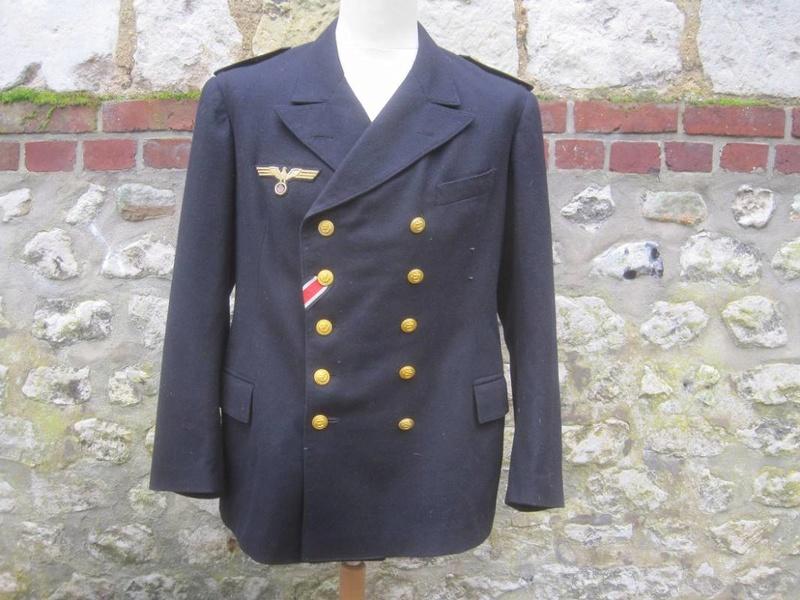 Veste Officier Marinier mécano KM Veston43