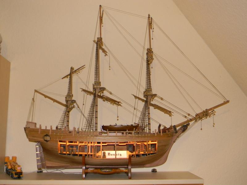 HMS Bounty 1:46 delPrado Dscn5510
