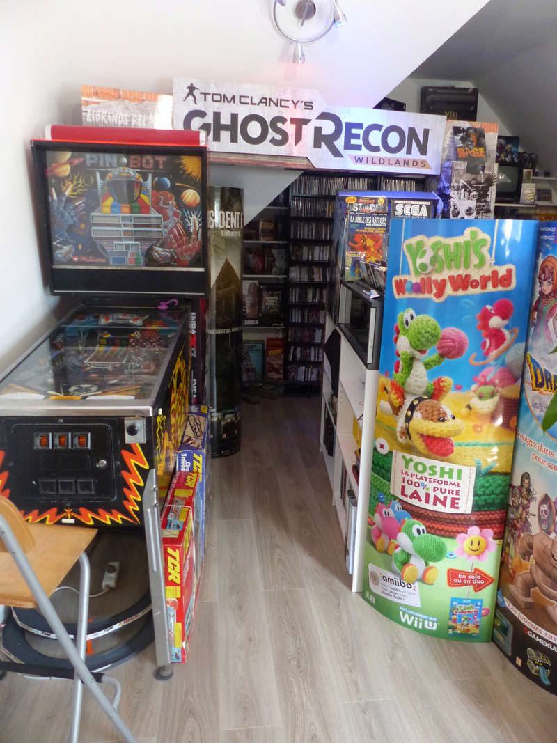 Votre Gameroom en une photo ! - Page 2 P1140510