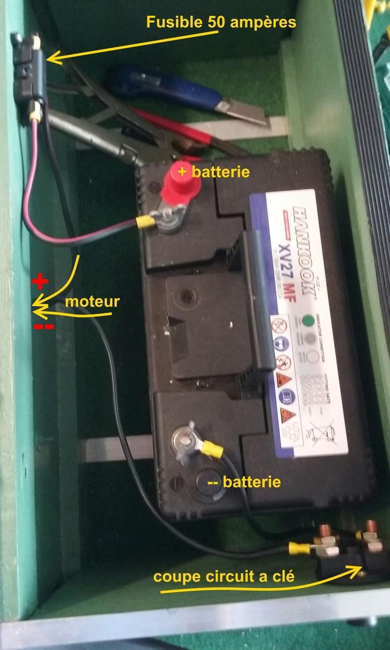 Protection electrique  moteur avant Alim_m10