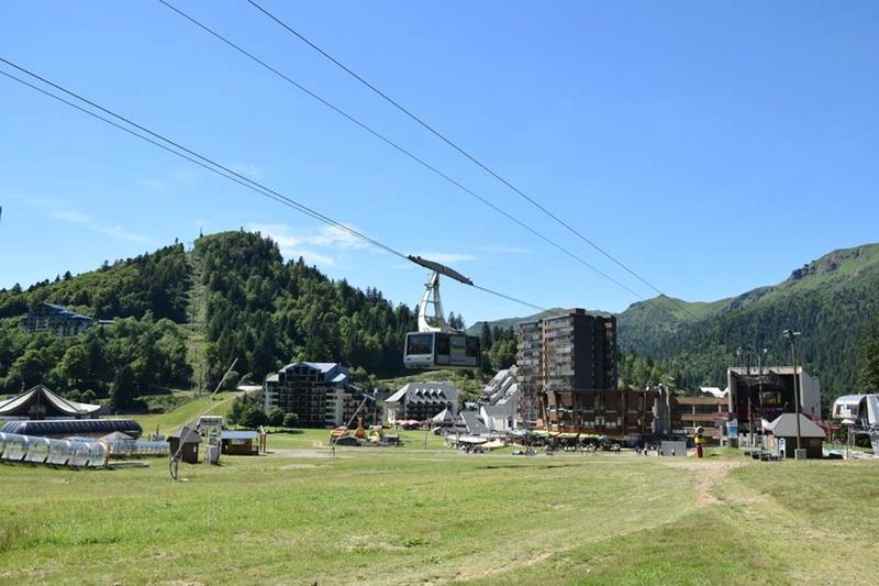 Construction télésiège fixe de la Combe - Chantiers Le Lioran 2017 20046510