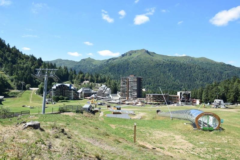 Construction télésiège fixe de la Combe - Chantiers Le Lioran 2017 20106410