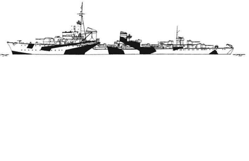 Z-37 [1/700] Tamiya Z37a10