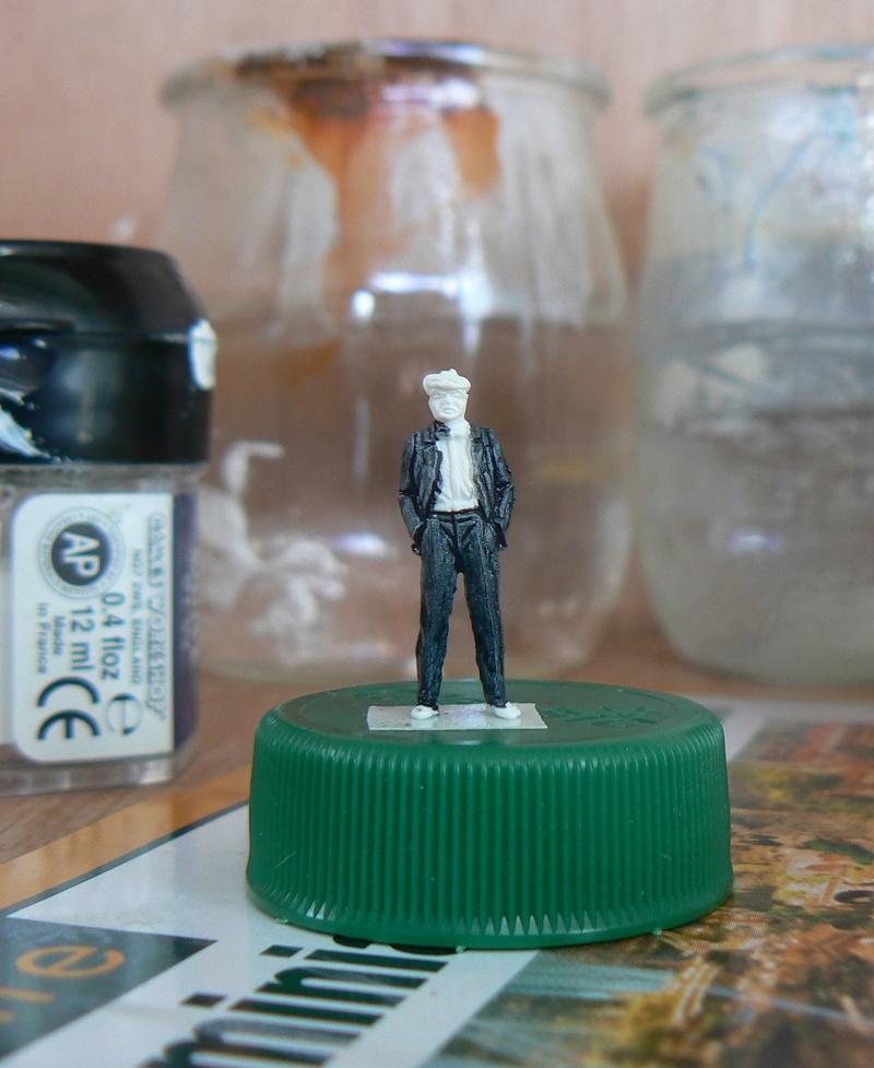 "peinture figurines - Peinture de figurines H0 ""au blanc"" 1yre_p10"
