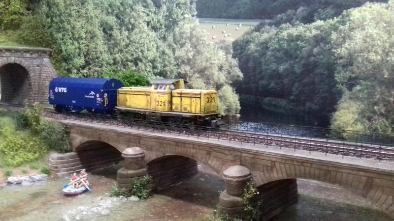 Mise en service de la double-voie à Greiseldange. 20170612