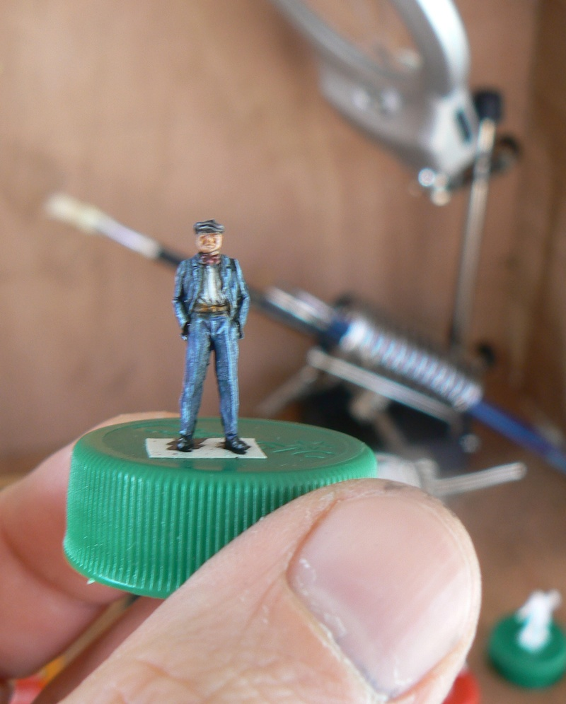 "peinture figurines - Peinture de figurines H0 ""au blanc"" Papy_f10"