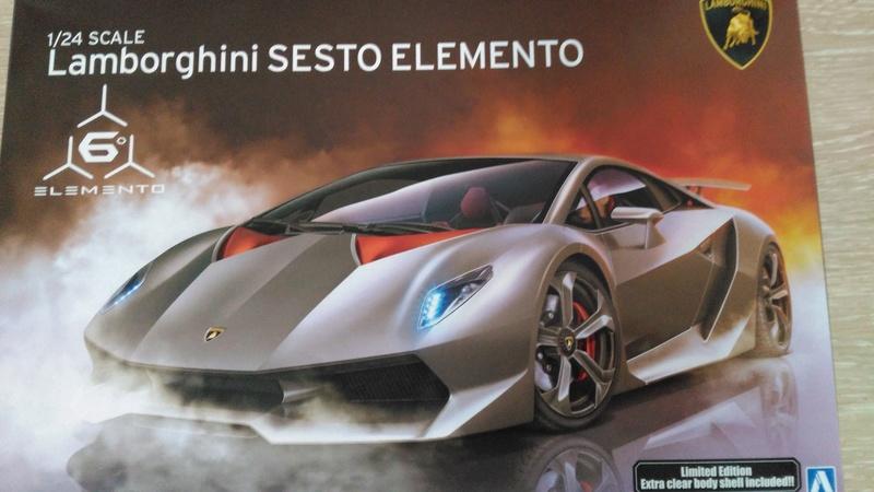 Aoshima 1:24 Lamborghini Sesto Elemento Limited Edition  Img_2019