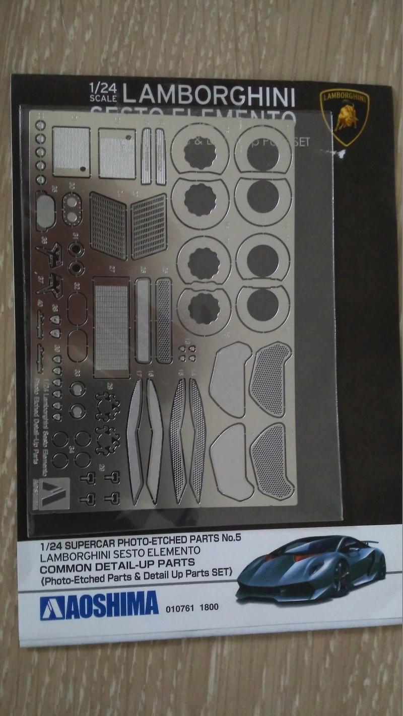 Aoshima 1:24 Lamborghini Sesto Elemento Limited Edition  Img_2061