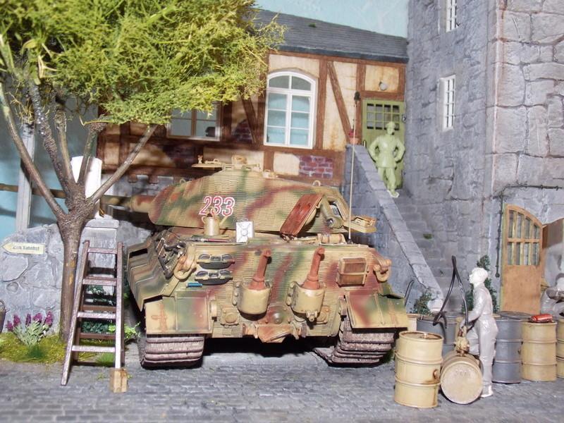 King Tiger à l'entretien Chateau de Chanteloup Aout 44       Projet terminé  - Page 5 Dscn5720