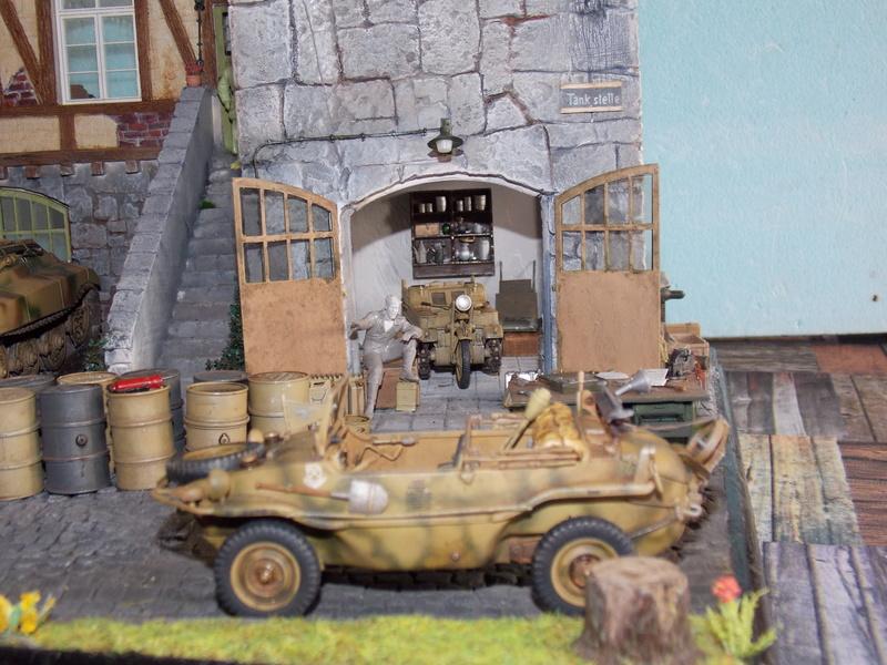 King Tiger à l'entretien Chateau de Chanteloup Aout 44       Projet terminé  - Page 5 Dscn5721