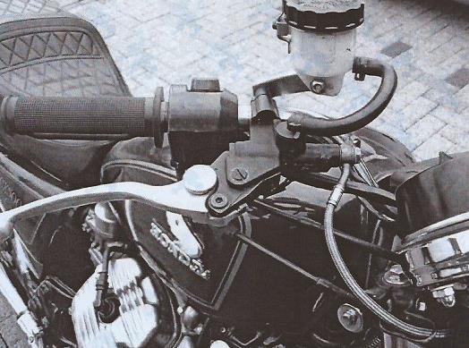 Stahlflex für CX-500 C Bremsl10