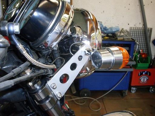 Stahlflex für CX-500 C Sdc12610
