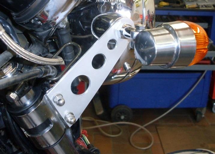 Stahlflex für CX-500 C Sdc12611